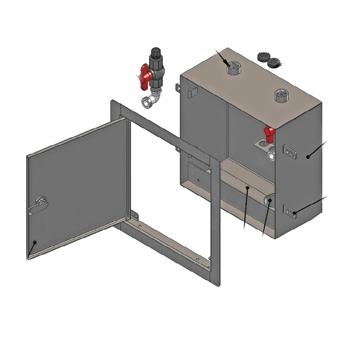 MI-DIAL-2 Dialysis Box with Two Valves