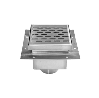 Floor Fabricated Stainless Steel Drains