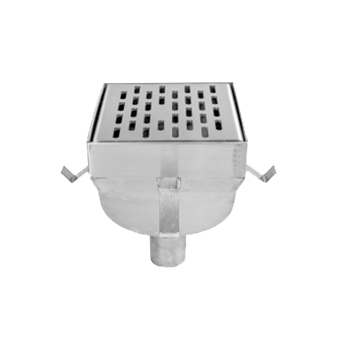 P4080 8″ x 8″ Fabricated Floor Sink