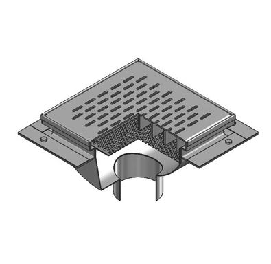 P4120 12″ x 12″ Fabricated Floor Sink