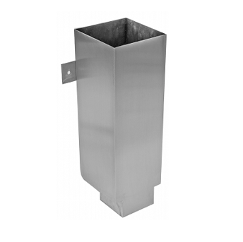 P8100/P8200 Stainless Steel Fabricated Downspout Boot