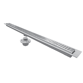 P9000-CFL 2 1/2″ Wide, Stainless Steel Drain