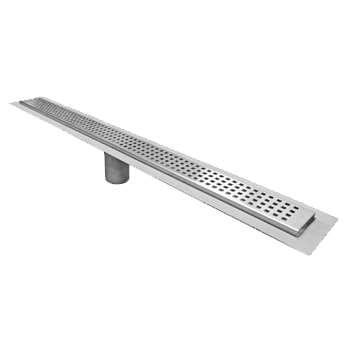 P9000-FL 2 1/2″ Wide, Stainless Steel Drain