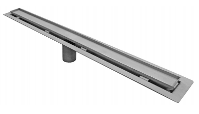 P9000-TI-FL 2 1/2″ Wide, Stainless Steel Drain