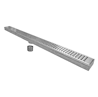 P9000 2 7/8″ Wide, Stainless Steel Drain