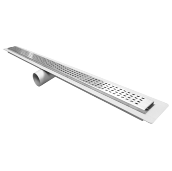 P9000-FL-SO 2 1/2″ Wide, Stainless Steel Drain