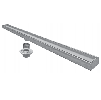 P9000-TI 2 7/8″ Wide, Stainless Steel Drain