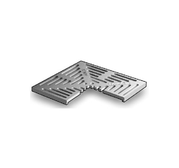 T1150 12″ x 12″ Trench Drain Grate with Optional Angle Frame