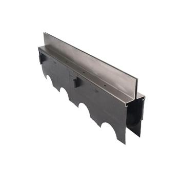 T1400-SD-BRS 13 3/8″ Deep Body Brick Slot Drain – ADA Compliant