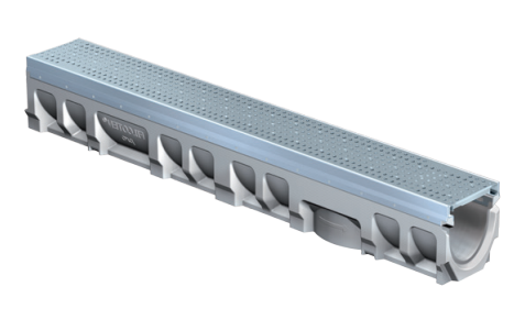 T1500-3 FILCOTEN 6″ Wide, Presloped Concrete Trench Drain