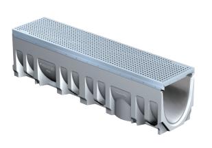 T1700-3 FILCOTEN 8″ Wide Concrete Trench Drain System