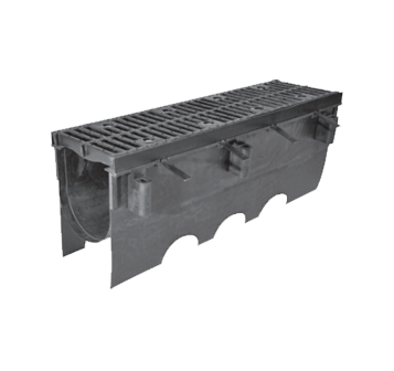 T2000 12″ Wide Presloped Trench Drain System