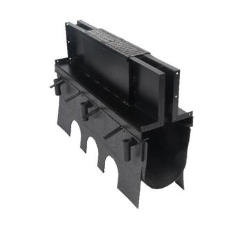 "T2000-SD-21H-CO 21"" Deep, 12"" Wide Body Slot Drain Cleanout Port"