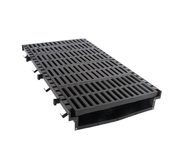 T2600 26″ Wide, Presloped Fabricated Steel Trench Drain System