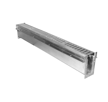 T5000-300 3″ Wide, Aluminum Trench Drain Body & Grate