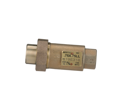 DC In Line Dual Check Valve Low Lead