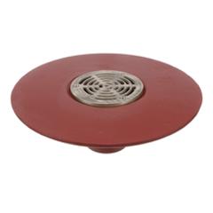 F1100-Z Floor Drain with Elastomeric Flange for Non-Membrane Floor Areas