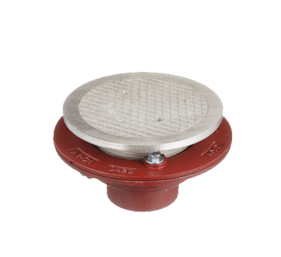 F1100-C-T Floor Drain with Spanner Wrench Cover
