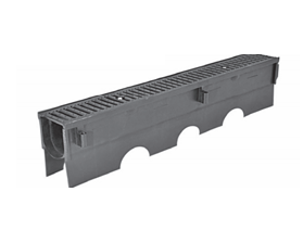 T1400 6″ Wide Presloped Trench Drain System