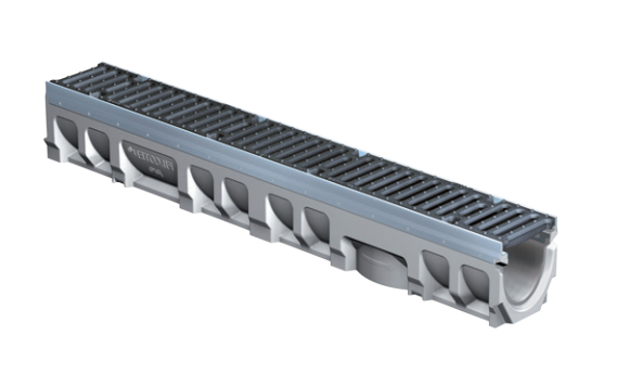 T1500 FILCOTEN 6″ Wide, Presloped Concrete Trench Drain