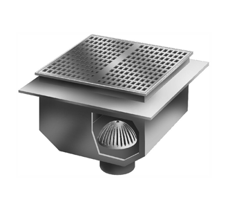 FS1790 – 24″ x 24″ x 17″ Deep Floor Sink