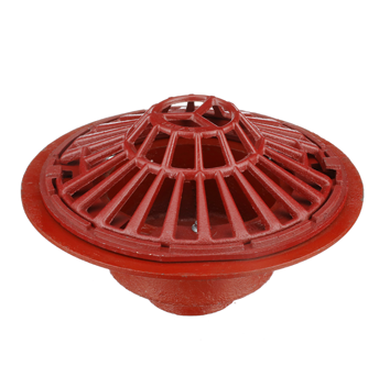 R1200-RG Large Sump Roof Drain with RoofGuard