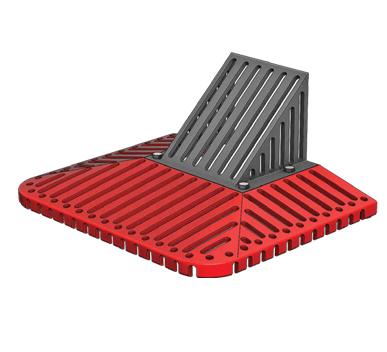RG2016DGC Cast Iron Roof Scupper
