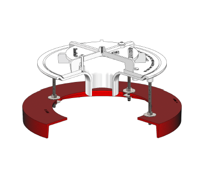 MH-UDC Siphonic Underdeck Clamp