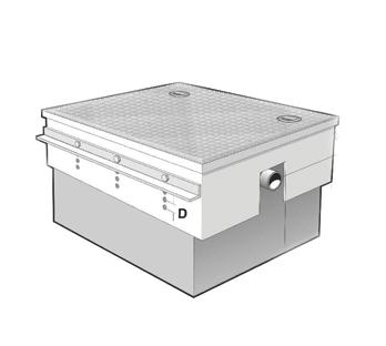 MI-CS Cover Shroud for 4 to 100 US GPM PDI Grease Interceptors