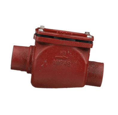 BV1000 Backwater Valve with Flapper